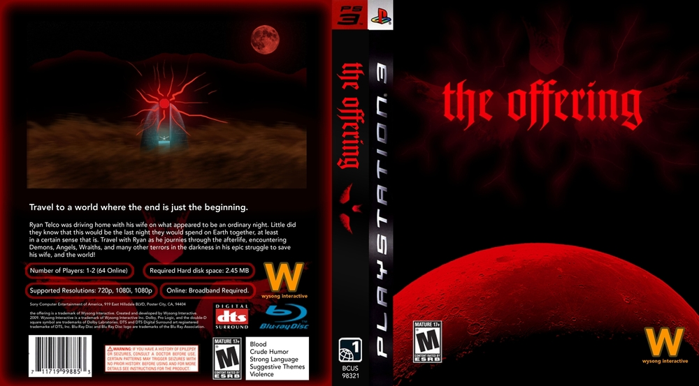 The Offering Game Cover