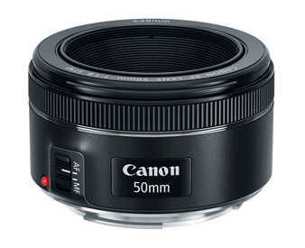 The Canon 50mm 1.8 prime lens.