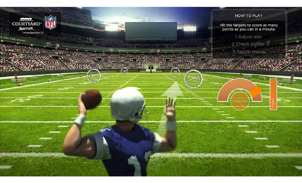 Bullseye QB: Airport touchscreens