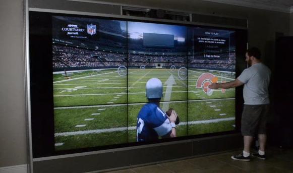 Bullseye QB: Airport touchscreens
