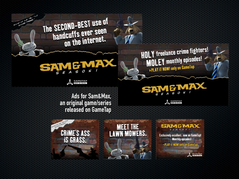 Sam & Max Banners