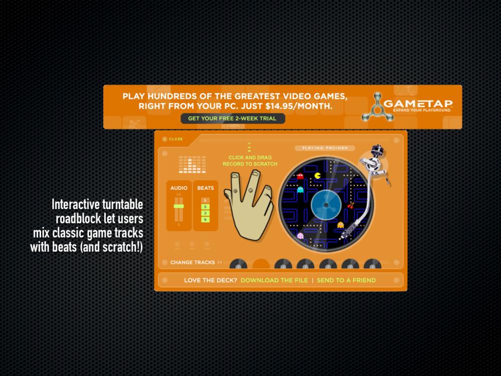 Interactive Audio Turntable