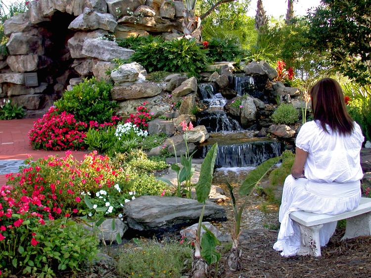 Meditation Garden At St. Peter Catholic Church — Gentile Glas
