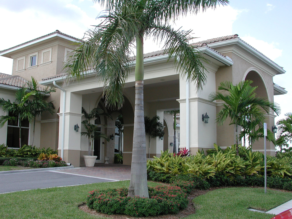 Abacoa Golf Clubhouse Jupiter Florida Porte Cochere.JPG