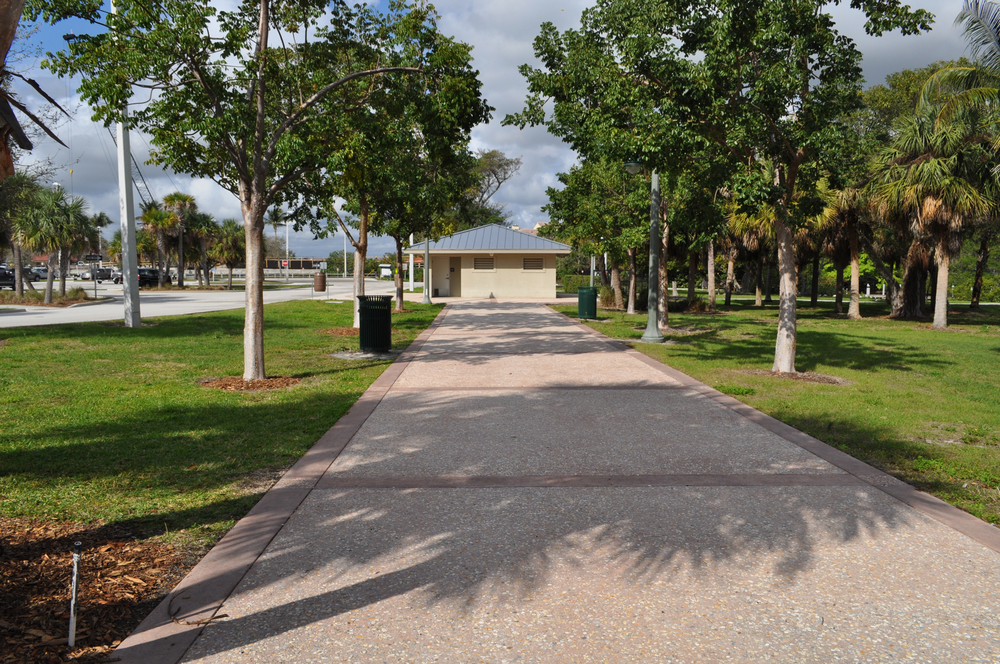 Burt Reynolds Park Palm Beach County Florida Tabby Concrete Future Jupiter Riverwalk.JPG