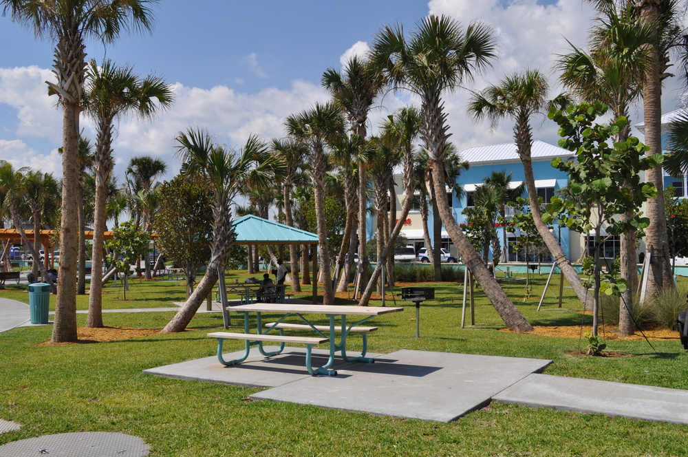 City of Riviera Beach Municipal Beach Park Ocean Mall Full Sun ADA Picnic Table.jpg