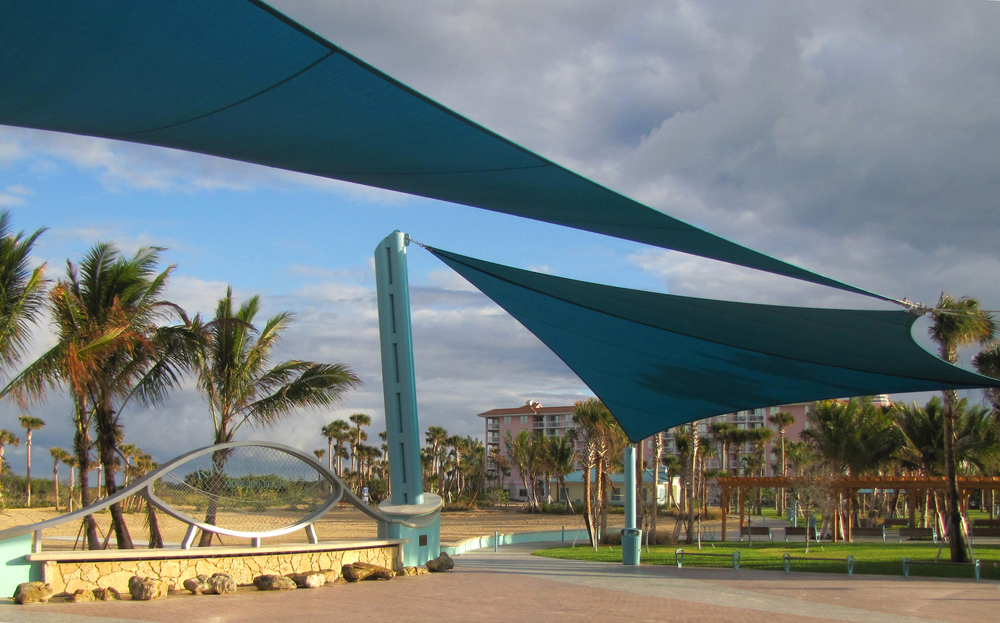 City of Riviera Beach Municipal Beach Park Ocean Mall Shade Sails.jpg