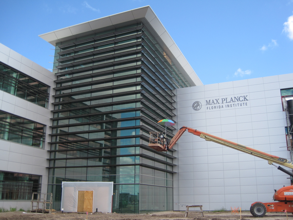 Max Planck  Florida Institute Front Entry Under Construction.jpg
