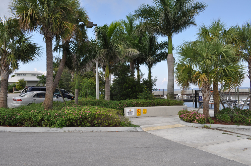 Pahokee Marina and Campground Florida Native Plantings along Lake Walk.JPG
