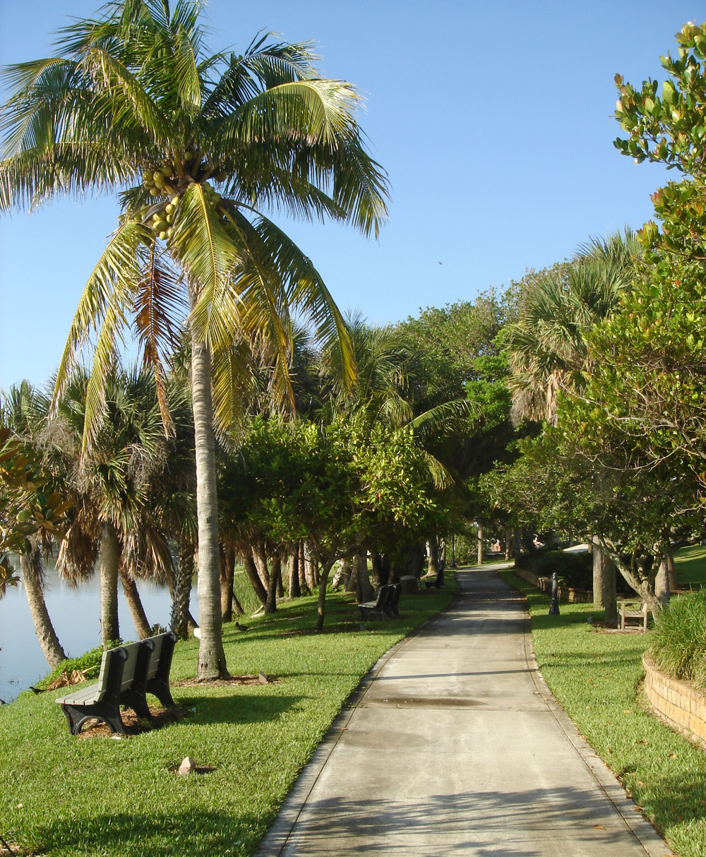 Pelican Lake Park Juno Beach Florida Walking Path.jpg