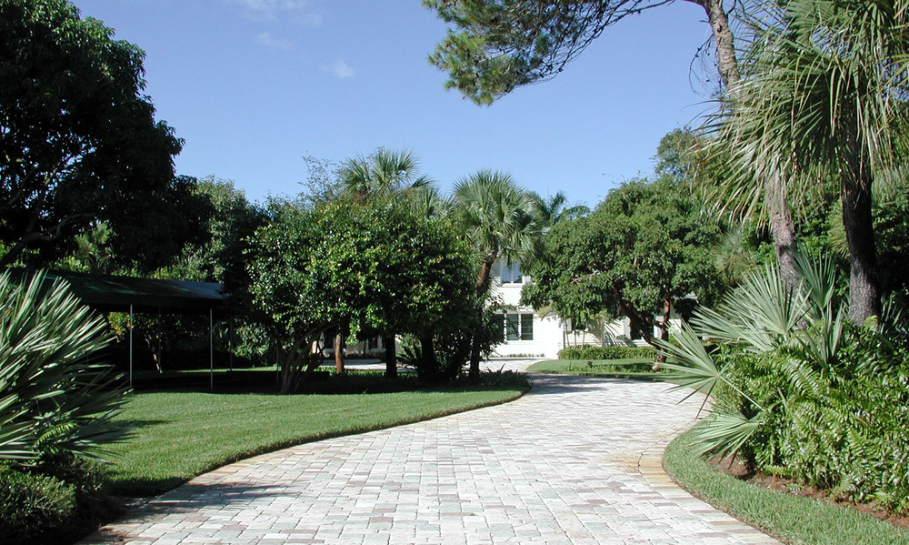 Loxahatchee River Residence Paver Entry.jpg