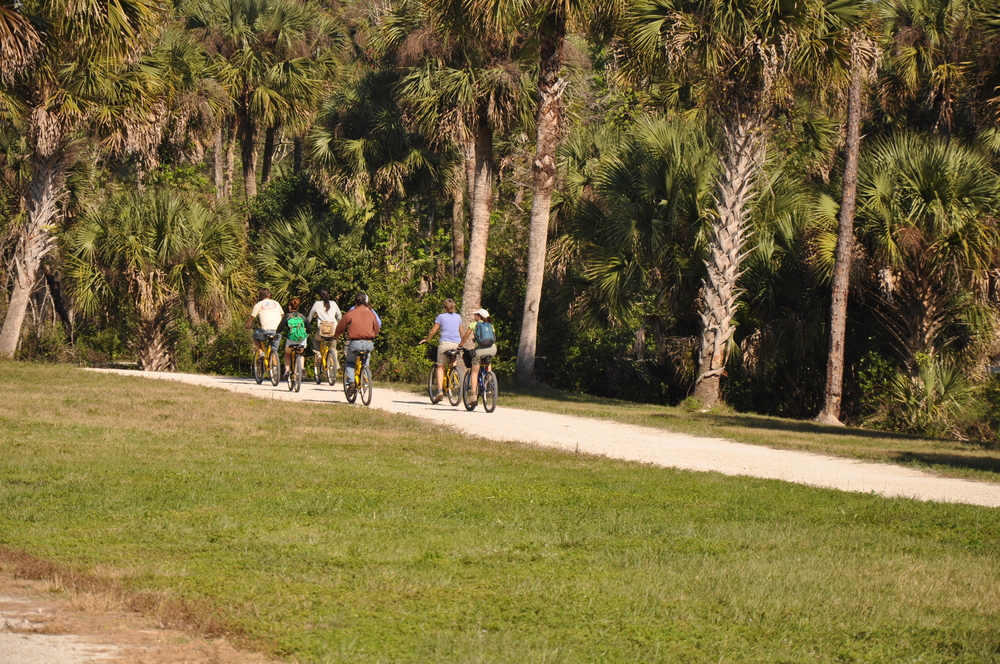 Riverbend Park Palm Beach County Bicycling Trails.JPG