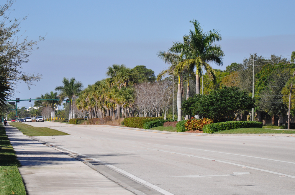 Indian Creek Parkway Jupiter Florida Roadway Landscaping.JPG