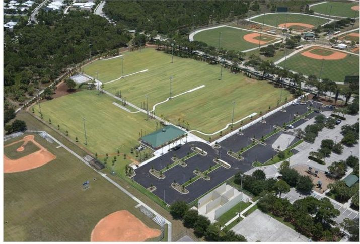 Opening for new Abacoa Community Park in Jupiter is scheduled in September. Entrance is on Frederick Small Road on the right side. (Photo provided)