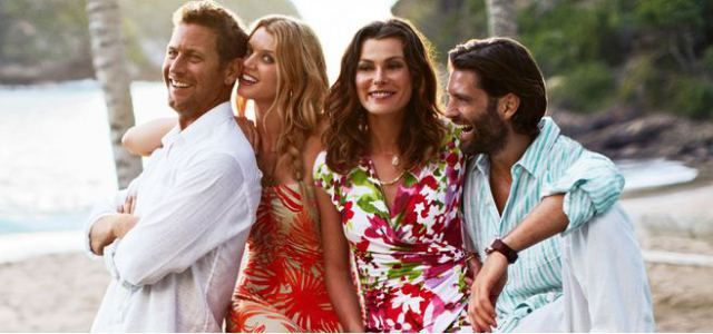 Find island-style clothes and accessories at Tommy Bahama