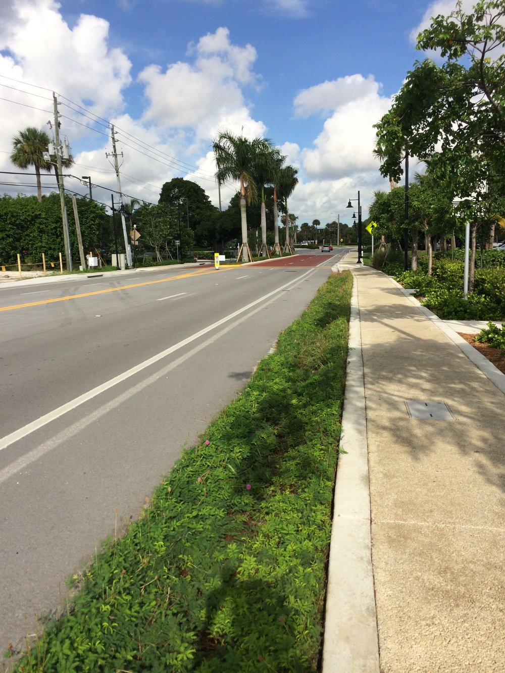 9.14.16 A1A streetscape pervious sidewalk.JPG