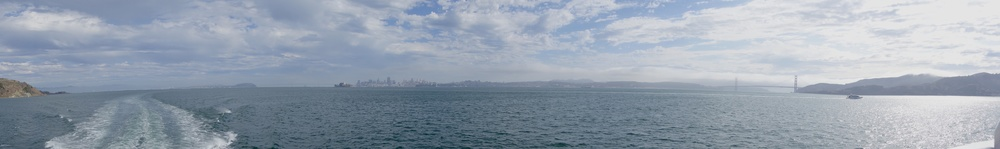 SFBay from Sausalito ferry