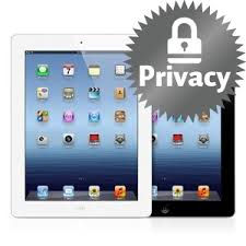 privacy on ipad