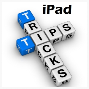 Click here for more iPad Tips and Tricks
