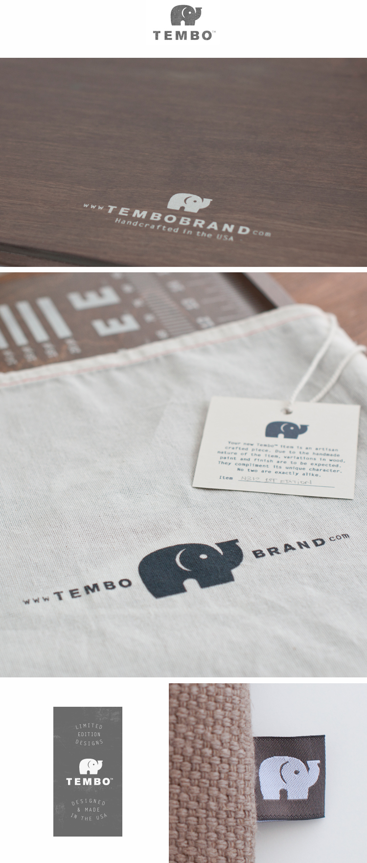 Tembo™ Brand Identity by Threehaus