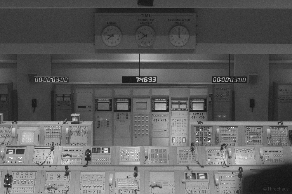 """The Firing Room"" Mission Control, Kennedy Space Center"