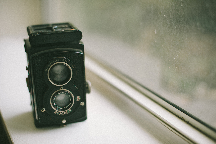Rolleiflex I inherited from my grandfather.