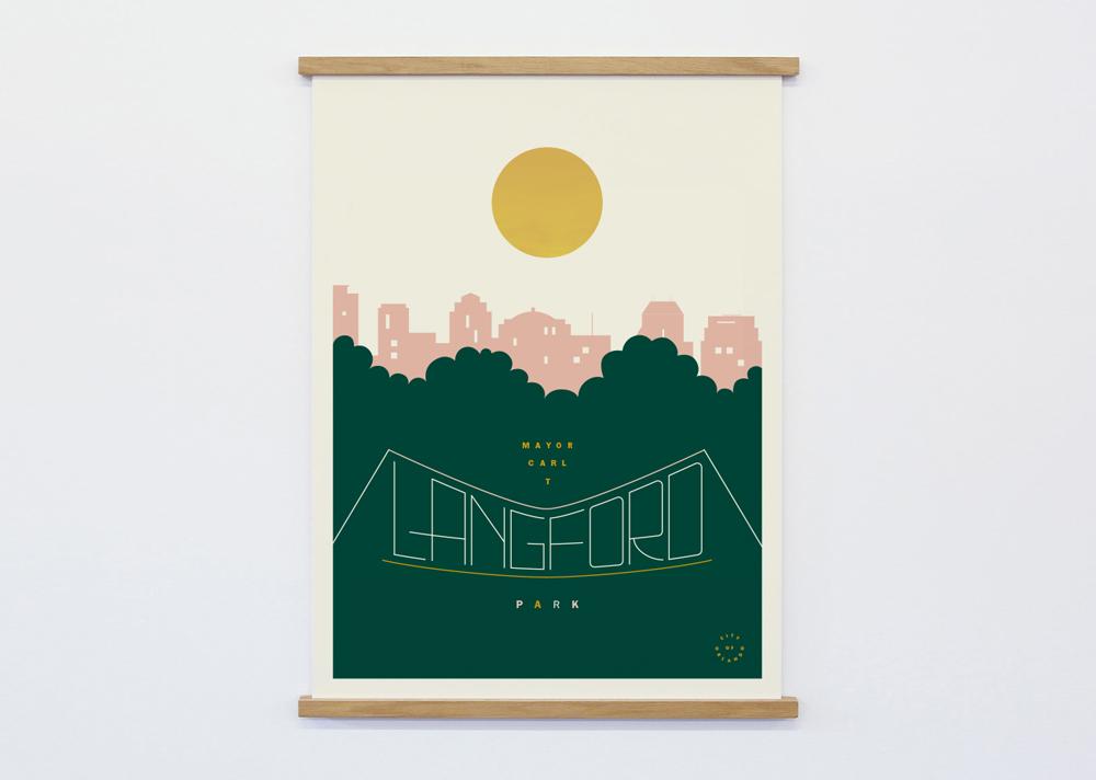 Langford Park Poster