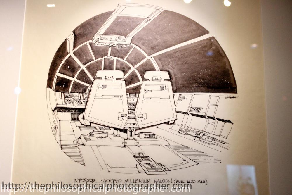 The Millenium Falcon Cockpit Interior