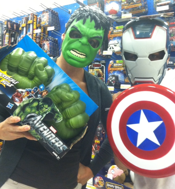 Got your costumes for the big party tomorrow?