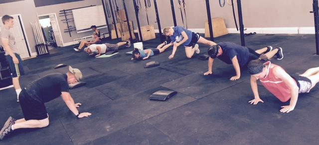 So many push ups...and pull ups...and sit ups...and squats...and...