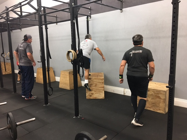 CrossFit  Strength: 5x5 Deadlifts  Partner WOD  25-20-15 of  Partner med ball toss over pull up bars  Med ball sit up pass  Partner Deadlifts (225/185)  In sync bar facing over bar burpees     FIT  5 rounds for time  20 sit ups  10 pull ups  10 box jump overs