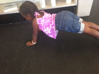 Full lock out at the top, back flat, head up... do push ups like Ruby!