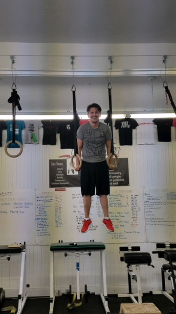 Tomas got a muscle up!!!  So awesome!