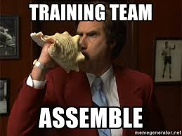 "WHAT: ""19.6"" TEAM OBSTACLE COURSE  WHO: TEAM RED VS. TEAM BLACK VS. TEAM GREY  WHEN: FRIDAY, 5:15PM @ C.F.E.  BRING: TEAMS RED AND BLACK BRING POTLUCK DISH TO SHARE  WEAR: TEAM COLORS"