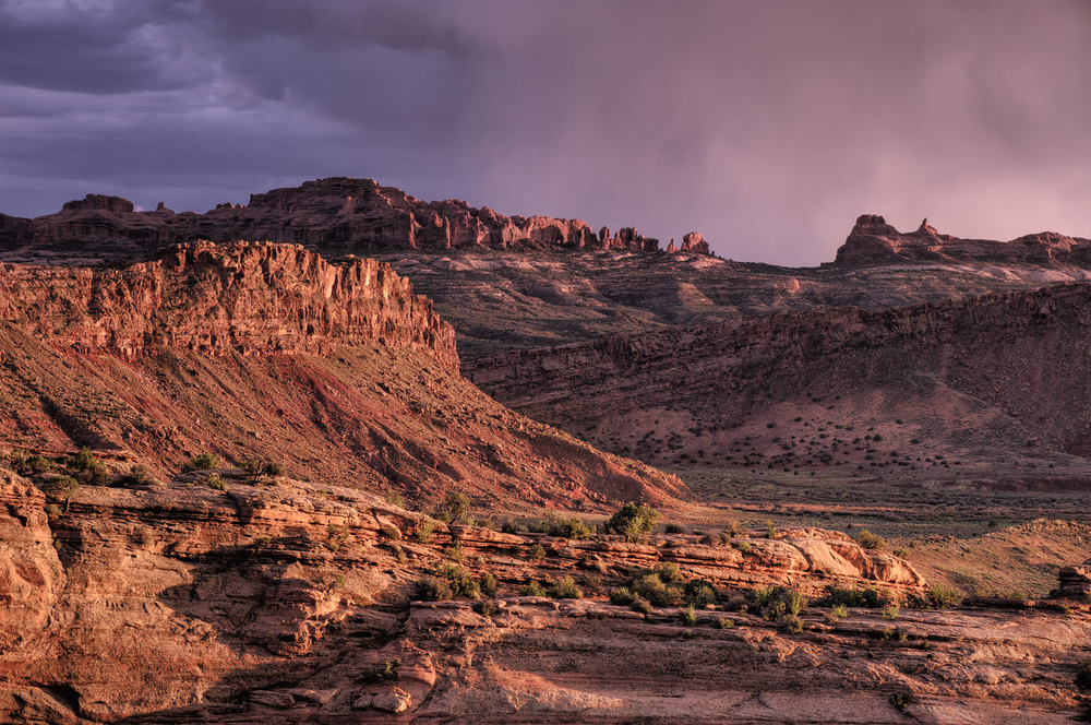 Sunset Storm From Delicate Arch 2
