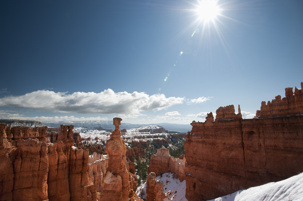 Sunstar Over Bryce