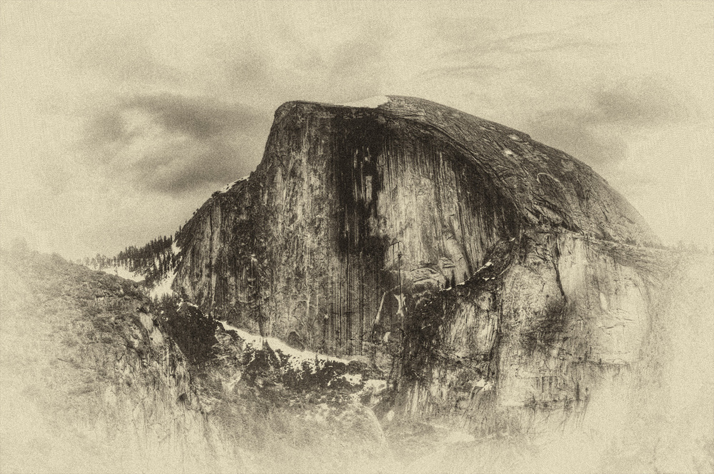 Antique Half Dome