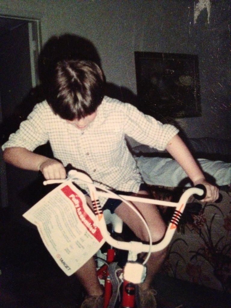 1988 me. Short shorts. Rolled up flannel in July. Calculator watch. Hush puppies. Fixie.    Pffffbt.    Hipster.