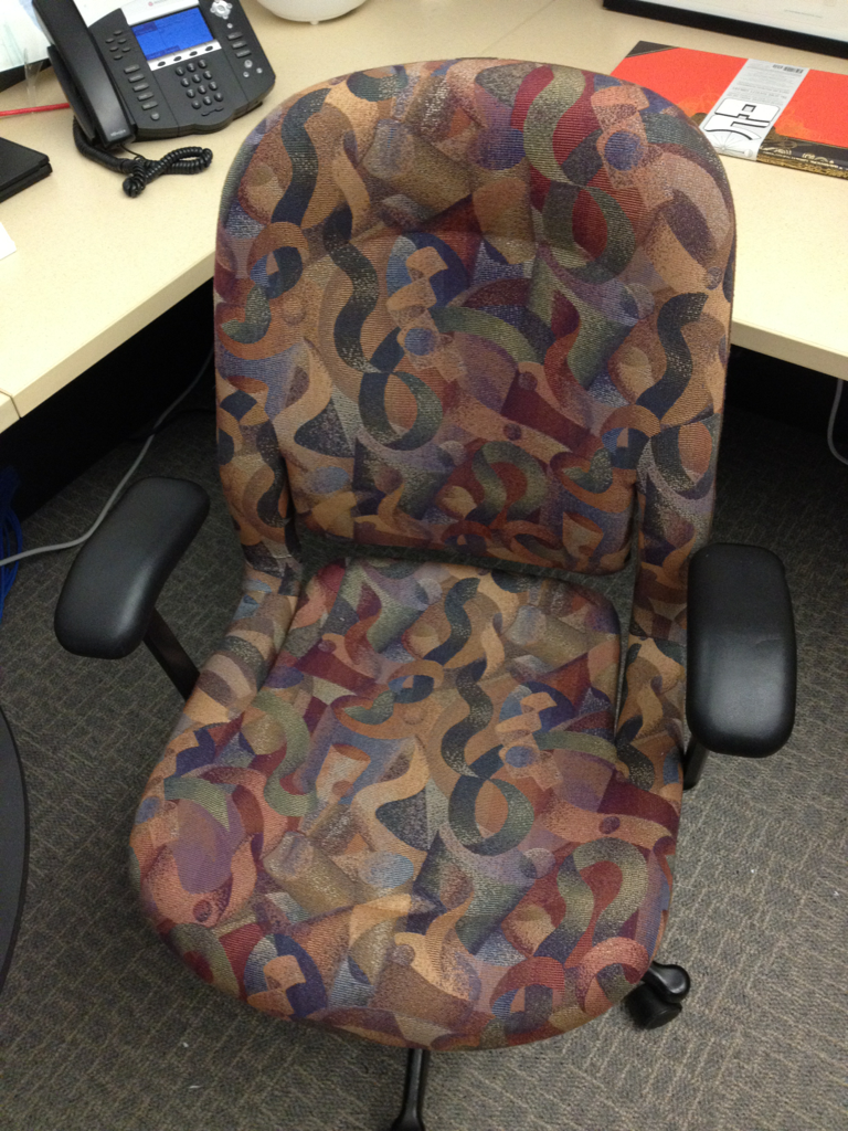 Does Herman Miller make chairs this ugly to deter theft?