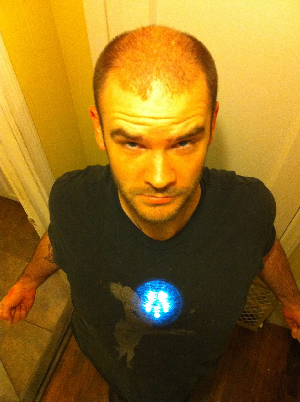 Attic light? What attic light? I AM IRON MAN.
