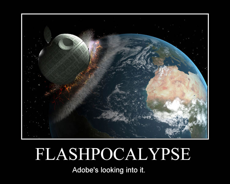 flashland: Flashpocalypse! I guess I'm not the only one…