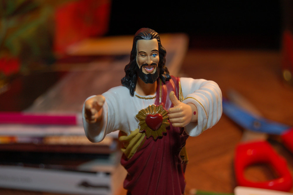 Buddy Christ, an idea brought to us by Kevin Smith