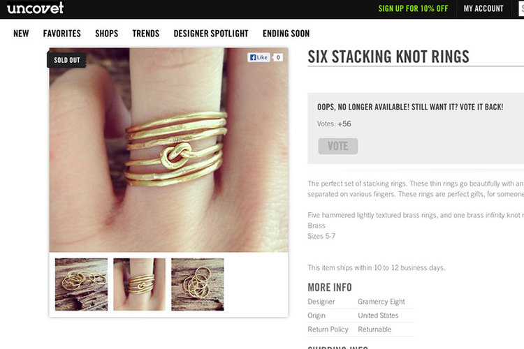 128 john st DIY Wire Knot Ring