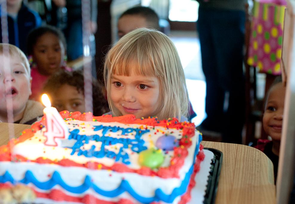 January: Adele turned four. Digital- Nikon D700.