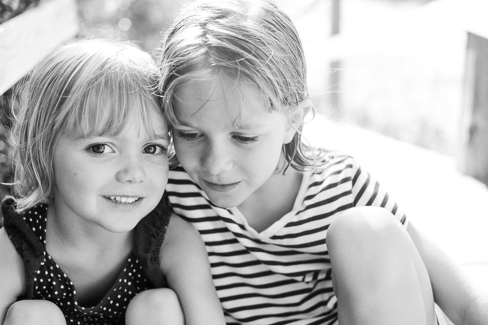 July: Sisters, Pawleys Island. TriX, Nikon F100.
