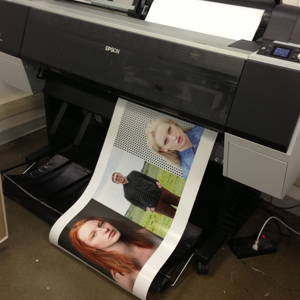 Printing up a 5 foot banner