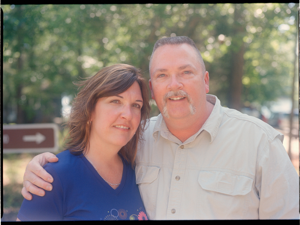 Mark Wages and Alisa Rogers - dad and his twin sister