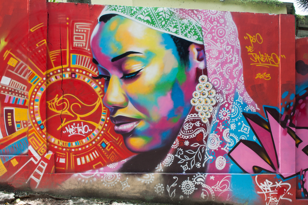 Rio de Janeiro, Vidigal, favela, travel photography, Brazil, Brasil, amazing street art, graffiti