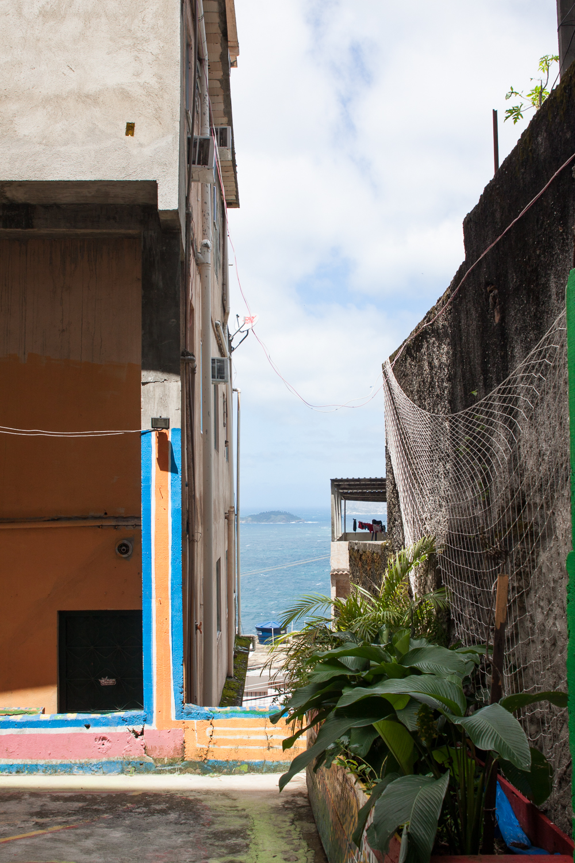 Rio de Janeiro, Vidigal, favela, landscape, travel photography, Brazil, ocean, sky, Brasil