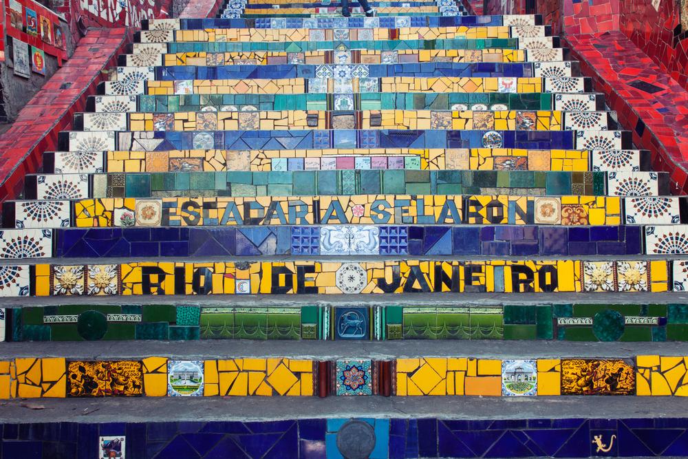 Brazil, Rio de Janeiro, Landscape, Travel photography, architecture, Lapa, street photography, stairs, escadaria selaron